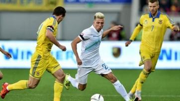 Словенец Кампль жалуется на плохое судейство в матче с Украиной