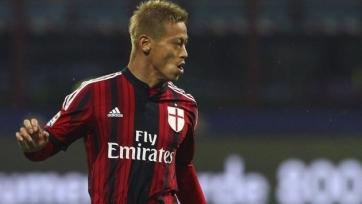 Хонда будет бороться за место в основном составе «Милана»