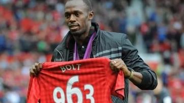 Усэйн Болт хочет пройти просмотр в «Манчестер Юнайтед»