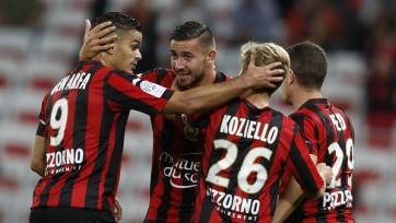«Ницца» забила «Лиону» три безответных мяча