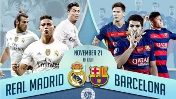 Анонс. «Реал» Мадрид – «Барселона». Схватка контрастов