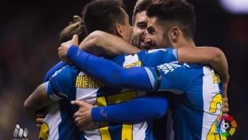 Дубль Эрнана Переса принёс «Эспаньолу» первую за последние четыре матча победу