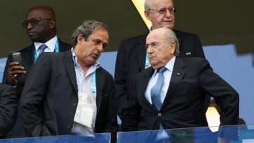 Арбитражная палата ФИФА открыла дела в отношении Платини и Блаттера