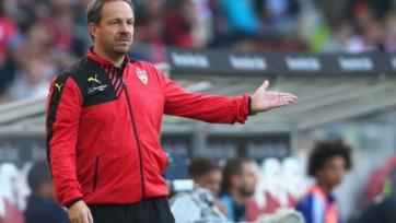 Официально: Главный тренер «Штутгарта» отправлен в отставку