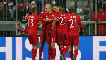 «Бавария» ожидаемо одолела «Олимпиакос»