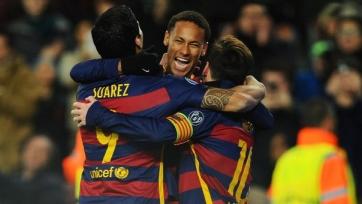 «Барса» добыла самую крупную победу в истории дуэлей испанских команд с итальянскими