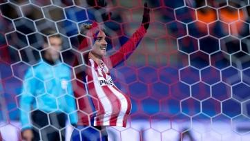 Дубль Гризманна принёс «Атлетико» победу над «Галатасараем»