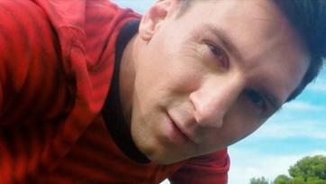 Лионель Месси с пятидесяти метров попал точно в камеру (видео)