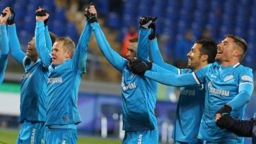 «Зенит» вырвался на 11-ю строчку в рейтинге УЕФА