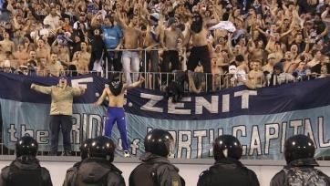 Официально: Фанаты «Зенита» не будут допущены на поединок с «Гентом»