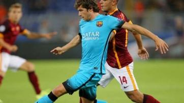 Серхи Роберто пропустит матч с «Реал Сосьедадом»