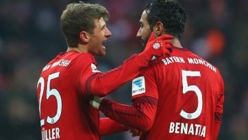 «Бавария» добыла дежурные три очка в игре с «Гертой»