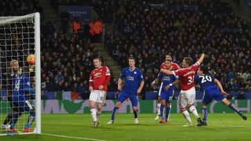 «Лестер» и «Манчестер Юнайтед» поделили очки