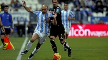 «Малага» не удержала победу в матче с «Гранадой»