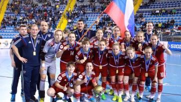 Женская сборная России по футзалу финишировала второй на Чемпионате мира