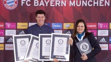 Левандовски получил четыре сертификата Книги рекордов Гиннесса