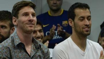 Серхио Бускетс: «Без Месси все игроки прибавили, почувствовав ответственность»