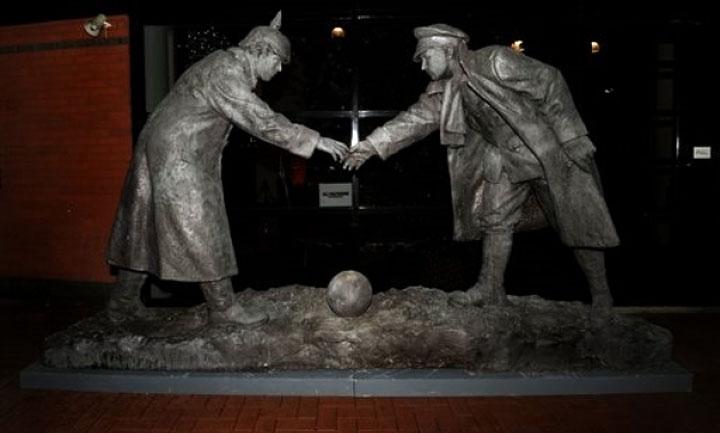 Футбол, война, Рождественское перемирие