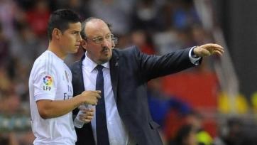 Хамес Родригес считает, что Бенитес проявляет к нему неуважение