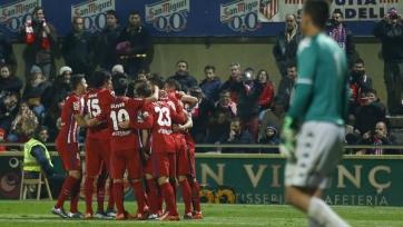 «Атлетико» одолел на выезде клуб из Сегунды Б