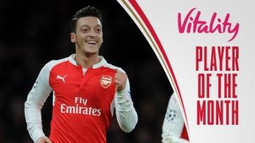 Месут Озил признан лучшим игроком «Арсенала» в ноябре