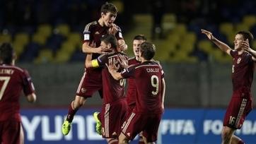 Юношеская сборная России сыграет с Боснией, Молдовой и Латвией