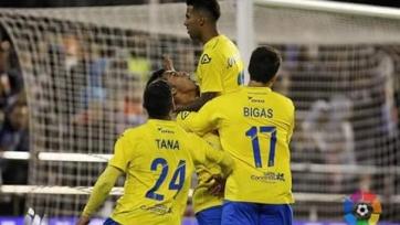 «Лас-Пальмас» дома обыграл «Реал Сосьедад»