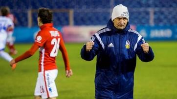 Юрий Газзаев – лучший тренер ноября в ФНЛ
