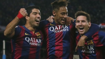 Луис Энрике: «Суарес, Неймар и Месси – это лучшая атака в истории футбола»