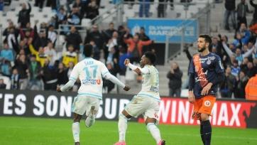 Марсельский «Олимпик» спас матч с «Монпелье»