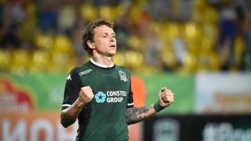 Мамаев – лучший игрок «Краснодара» в ноябре