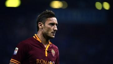 «Рома» готова продлить контракт с Тотти до лета 2017-го года
