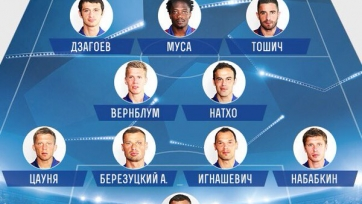 ЦСКА объявил стартовый состав на матч с ПСВ