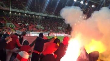 За сожжение фанатами «Спартака» флагов Турции, красно-белые заплатят крупный штраф