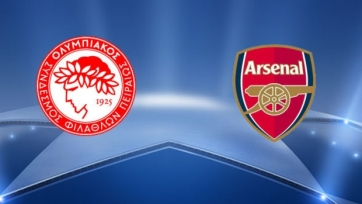 «Олимпиакос» и «Арсенал» определились со стартовыми составами