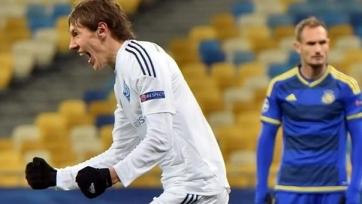 «Динамо» минимально одолело «Маккаби» и пробилось в плей-офф ЛЧ