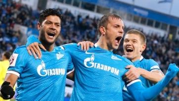В потенциальных соперниках «Зенита» значатся шесть команд