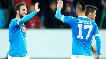 «Наполи» сыграет против «Легии» без трёх основных футболистов