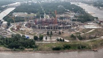 На стройке стадиона на Крестовском острове погиб 23-летний рабочий
