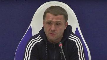 Ребров рассказал, как команда праздновала выход в плей-офф ЛЧ
