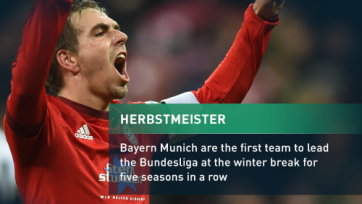 «Бавария» установила новый рекорд Бундеслиги
