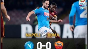 «Наполи» и «Рома» голов друг другу не забили