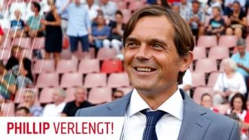 Филипп Коку останется тренером ПСВ до 2019-го года