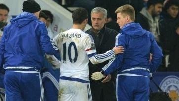 Азар получил небольшое повреждение в матче с «Лестером»