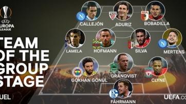 Андреас Гранквист попал в символическую сборную группового этапа Лиги Европы