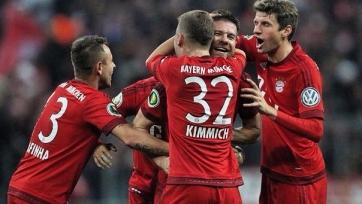Фантастический гол Алонсо вывел «Баварию» в следующий раунд Кубка Германии