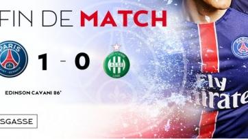 ПСЖ обыграл «Сент-Этьен», пробившись в следующий раунд Кубка Франции
