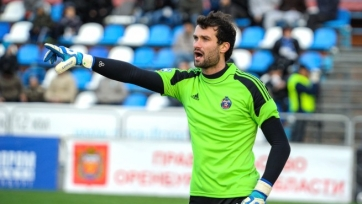 Александр Криворучко останется в «Томи» до конца сезона