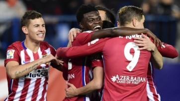 «Атлетико» пробился в четвертьфинал Кубка Короля