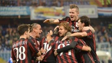 «Милан» обыграл «Сампдорию» и вышел в четвертьфинал Кубка Италии